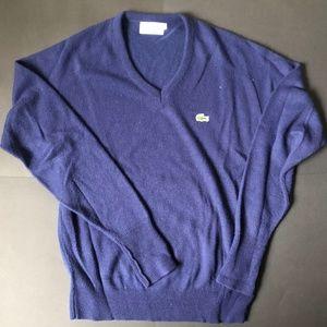Vintage 80s Izod Lacoste Full Sleeve Sweater